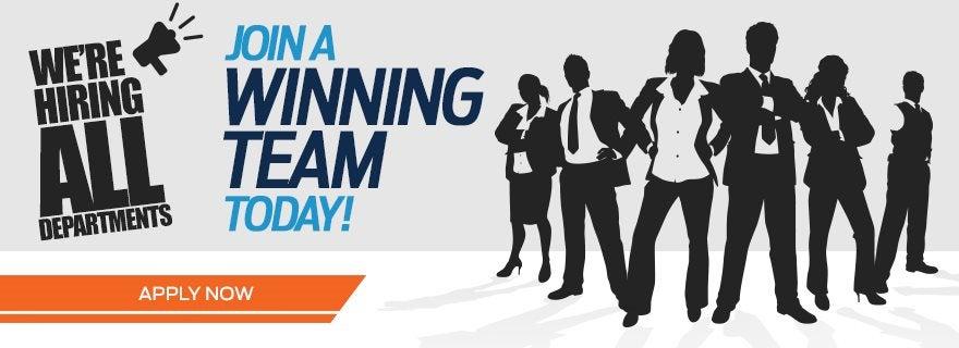 Join A Winning Team